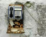 Public telephone in Loutro