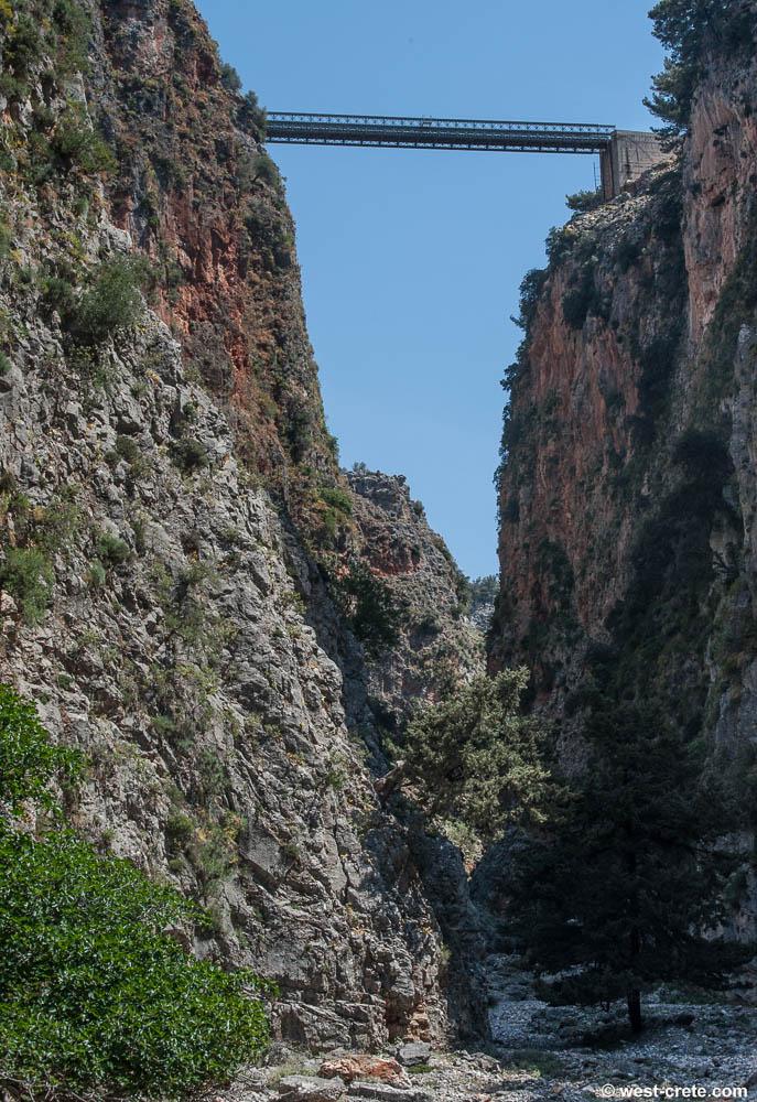 Randonnée dans les gorges d'Aradena