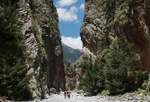 Carte Crete Gorges De Samaria.The Walk Through The Gorge Of Samaria